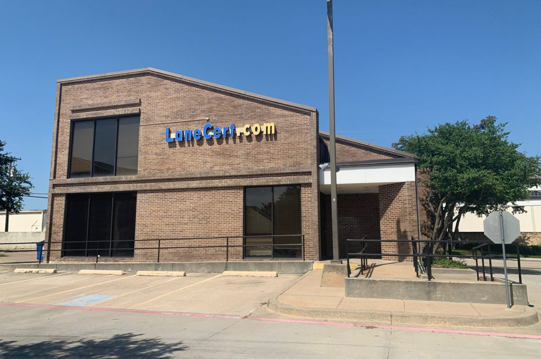 The HQ of Lancert.Inc in dallas